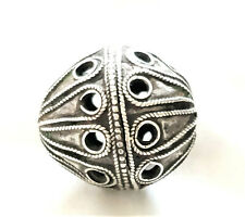 unique Old Berber Silver Beads from Morocco