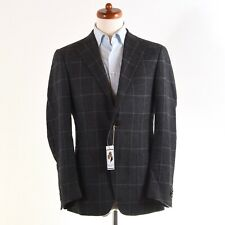 CORNELIANI Sakko Jacket Gr 46 Wolle Baumwolle Wool Cotton 1/4 Gefuttert Lined It