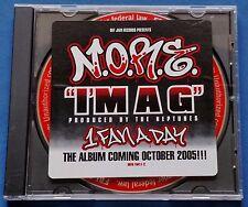 N.O.R.E. I'm A G CD Promo 3 Mixes Radio Instrumental Call Out 2005