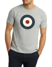 NEW Ben Sherman Target Tee Oxford Marle MB12872F18 Grey Marle