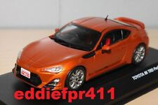 1/43 TOYOTA 86 TRD PERFORMANCE COUPE IN ORANGE METALLIC KYOSHO J COLLECTION