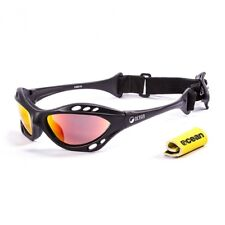 Ocean Sunglasses Cumbuco polarized Matte Blk frames w/Revo lens New