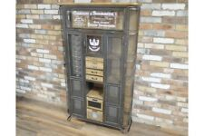 Large Vintage Industrial Cabinet Multi functional & Very Cool Display Cabinet