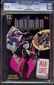 Batman Adventures Mad Love # NN CGC 9.6 White (DC, 1994) early Harley Quinn