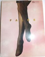 Falke Tights Silver Diamond Pattern 40 Denier Colour Plum Size S-M Unworn