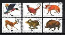 Animaux Gibier Bulgarie (84) série complète 5 timbres oblitérés