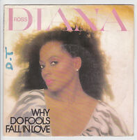 """DIANA ROSS Vinyl 45 tours 7"""" WHY DO FOOLS FALL IN LOVE - CAPITOL 86442 F Réduit"""
