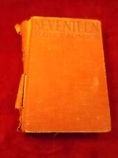 """OLD ANTIQUE 1917 BOOK """"SEVENTEEN"""" BY BOOTH TARKINGTON (METROPOLITAN MAGAZINE)"""