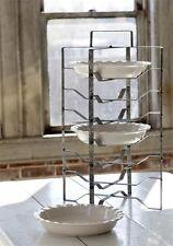 Vintage Style Metal Pie Rack-Cake Stand-Antique Kitchen Farmhouse Decor