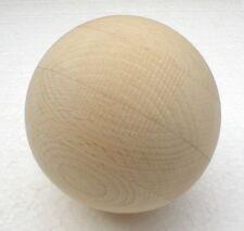1 Stück Holzkugel ohne Bohrung D=100 mm Kugeln Buche