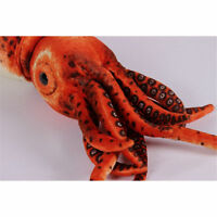 Giant Squid Plush Stuffed Sea Animal Toy 31.5'' Soft doll Christams Cushion Gift