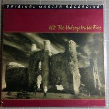 U2 - The Unforgettable Fire - verschweißt NEU, MFSL 1-207