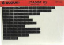Suzuki LT-A500F Vinson 4WD 2002 Parts Catalog Microfiche s535