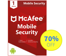 McAfee Mobile Security PREMIUM (2018) Antivirus - 1 Android, 1 Year (Key - Code)