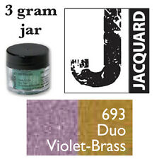 Pearl Ex Mica Powdered Pigments - 3g bottles - DUO VIOLET-BRASS 693