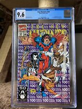 New Mutants #100 (1991) CGC Graded 9.6 1st appearance X-Force Marvel Rob Liefeld