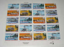US STAMP SCOTT #3091-3095 FULL SHEET OF 20 - RIVERBOATS  32c - MINT NEVER HINGED