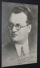 CPA POLITIQUE ROBERT NISSE VERS 1932-1934