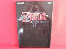 The Legend of Zelda Twilight Princess Nintendo DREAM Strategy Guide Book / Wii