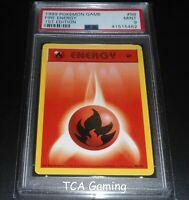 PSA 9 MINT Fire Energy 98/102 1ST EDITION Base Set Pokemon Card
