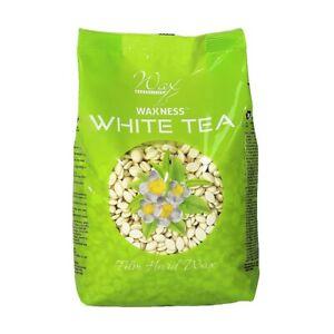 Waxness Wax Necessities Film Hard Wax Beads White Tea Cream 17.63 oz 1.1 lb