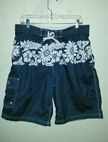 Super Nice SPEEDO Size L Large Swimming Shorts Trunks w/Pockets and Mesh Lining