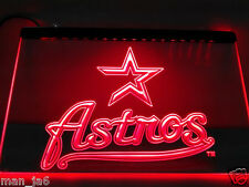 Houston Astros LED Neon Sign Light  Baseball Man Cave Best gifts New