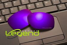 E45 Purple ETCHED POLARIZED Replacement Lenses For Oakley HOLBROOK 1.5mm thick