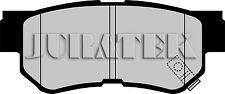 JURATEK QUALITY BRAKE PADS REAR JCP1606