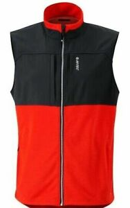 NWT HI-TEC DRI-TECH THERMO MEN'S WICKING LARGE WATER & WIND PROOF VEST -$75