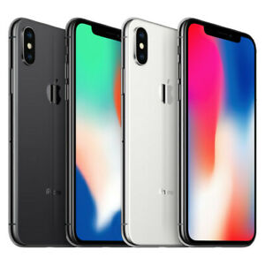 Apple iPhone X - 64GB, 256GB CDMA/GSM Unlocked, Verizon, AT&T, T-Mobile, Sprint