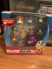 2020 Pokemon Figure Multi Pack 10 Pk Bonus Pack Figures PIKACHU, GENGAR, EEVEE