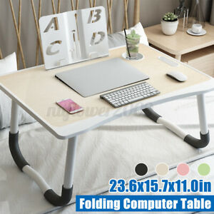 Adjustable Portable Tray Laptop Lazy Table Stand Lap Sofa Bed PC Notebook Desk
