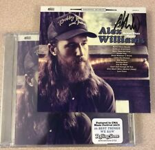 AUTOGRAPHED Alex Williams Better Than Myself CD SIGNED