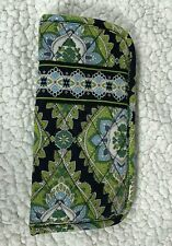 Vera Bradley Cambridge Soft Double Glasses Case Green & Blue Eyeglasses Case