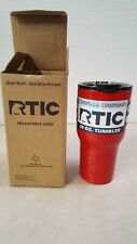 RTIC Double Wall Vacuum Insulated Tumbler, 20 oz, Red