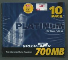 CD-R 10er Pack Platinum ***Neu + OVP***