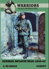 Warriors 1:35 German Infantryman 1940-43 Resin Figure Kit #35297