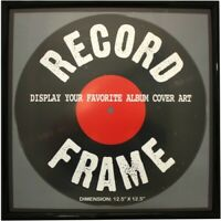 Record Album Frame [New Vinyl Accessory] Framed, Picnic Set
