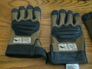 US Military WX Paladin Brown Gloves made with Kevlar and Leather - Multiple Size