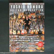 Guitar Magazine Book / YOSHIO NOMURA Vintage Guitar Collection 300 / 144 pages