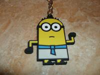1 Minion an Schlüsselanhänger Ägypter Minion Blau Top Gummi Original weiß gelb