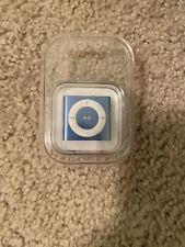 Apple iPod Shuffle 4th Generation 2GB Blue MC754LL/A
