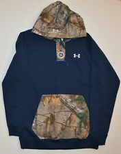 NWT UNDER ARMOUR Realtree Camo Hoodie Men's Size Medium
