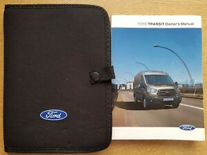 FORD TRANSIT HANDBOOK 2014-2019 OWNERS MANUAL WALLET INCLUDES SYNC PACK