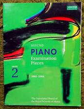 Selected Piano Exam Pieces Grade 2 (2003-2004): ABRSM 9 Pieces Clean Copy