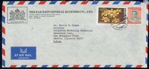 Mayfairstamps THAILAND AD 1980s COVER BANGKOK GENERAL BUSINESS COMPANY wwk43855