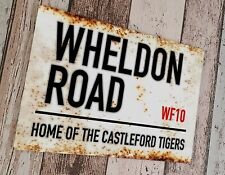 More details for castleford tigers - wheldon road sublimated wall man cave plaque