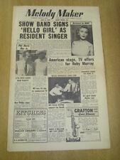 MELODY MAKER 1955 JULY 9 BBC SHOW BAND RUBY MURRAY LITA ROZA BILL RUSSO JAZZ