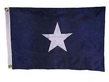 2x3 Embroidered Southern States Bonnie Blue Civil War 300D Nylon Flag 2'x3'
